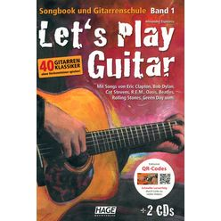 Hage Musikverlag Let's Play Guitar 1