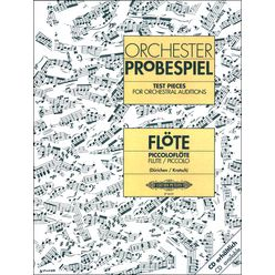 Edition Peters Orchester Probespiel Flöte