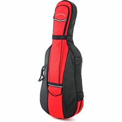 Roth & Junius CSB-01 4/4 BK/RD Cello Bag