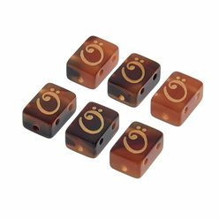 String Tie Classic Tiger Brown