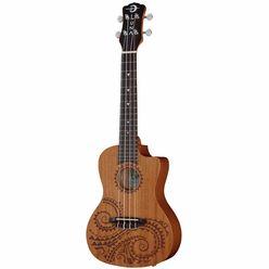 Luna Guitars Ukulele Concert Tattoo PU