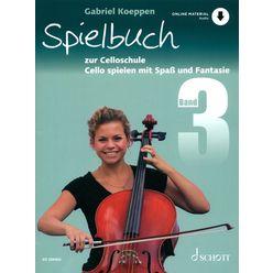 Schott Celloschule Spielbuch 3