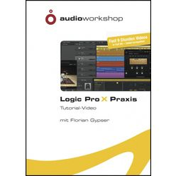 Audio Workshop Logic Pro X Praxis TutorialDVD