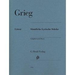 Henle Verlag Grieg Sämtliche Lyrische Stück