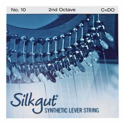 Bow Brand Silkgut 2nd C Harp Str. No.10