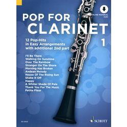 Schott Pop For Clarinet 1