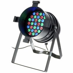 Stairville LED PAR64 36x3W RGB MKII black