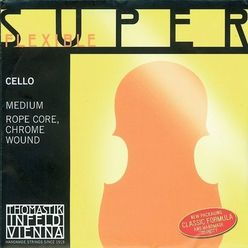 Thomastik Superflexible D Cello med Chr.