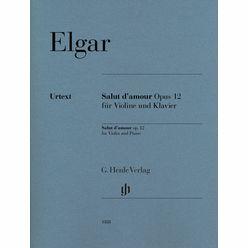 Henle Verlag Elgar Salut d'Amour Violin