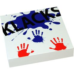 Baff Klacks Box Table Cajon White