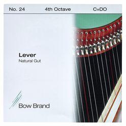 Bow Brand NG 4th C Gut Harp String No.24