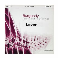 Bow Brand Burgundy 1st G Gut String No.6