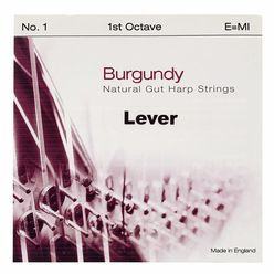 Bow Brand Burgundy 1st E Gut String No.1