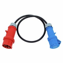 Stairville CEE Adapter CEE blue-16A