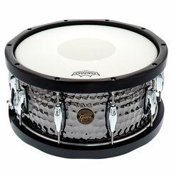 """Gretsch Drums 14""""x6,5"""" Black Hammered Sn. WH"""