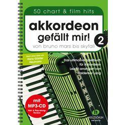Holzschuh Verlag Akkordeon gefällt mir! 2+CD