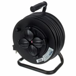 Varytec Cable Drum IP44 25m 3x 1,5 mm²
