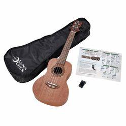 Luna Guitars Vintage Mahogany Concert Pack
