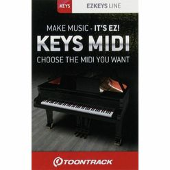 Toontrack EZkeys Midi Pack