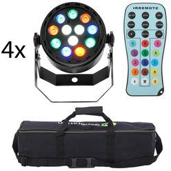 Fun Generation LED Pot 12x1W RGBW Bundle