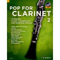 Schott Pop For Clarinet 2