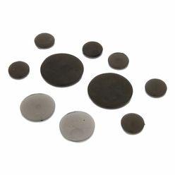 SlapKlatz Gel Pads 10-piece Box black