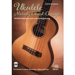 Acoustic Music Books Ukulele-Melody-Chord-Concept