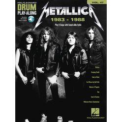 Hal Leonard Drum Play-Along Metallica 1983