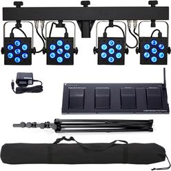 Stairville CLB5 RGB WW Compact LED Bundle