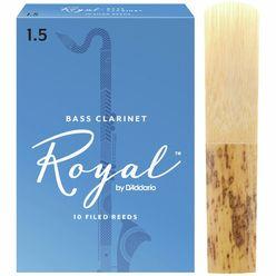 DAddario Woodwinds Royal Boehm Bass Clarinet 1.5