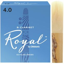 DAddario Woodwinds Royal Bb- Clarinet 4.0