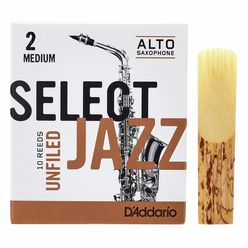 DAddario Woodwinds Select Jazz Unfiled Alto 2M