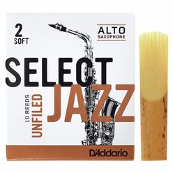 DAddario Woodwinds Select Jazz Unfiled Alto 2S