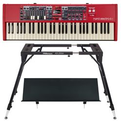 Clavia Nord Electro 6D 61 Stand Bundle