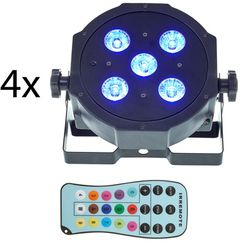 Fun Generation SePar Quad LED RGB UV Bundle 4