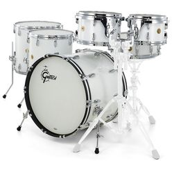 Gretsch Drums US Custom Rock Set White Glass