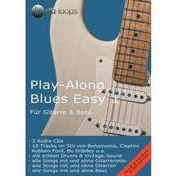 db loops Play Along Blues Easy 1