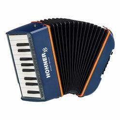 Hohner XS Accordion Piano blue