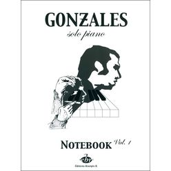 Editions Bourges Chilly Gonzales NoteBook 1
