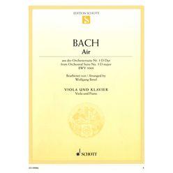 Schott Bach Air Viola
