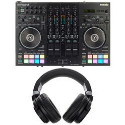Roland DJ-707M Headphone Bundle