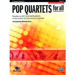 Alfred Music Publishing Pop Quartets For All Trumpet