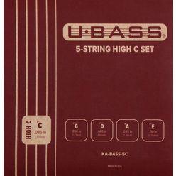 Kala U-Bass 5-String High C Set