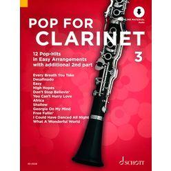 Schott Pop For Clarinet 3