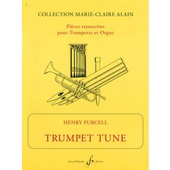 Editions Billaudot Purcell Trumpet Tune