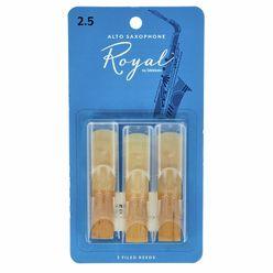 DAddario Woodwinds Royal Alto Sax 2.5 - 3-Pack