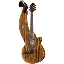 Timberline Guitars T60HGc-e Harp Guitar