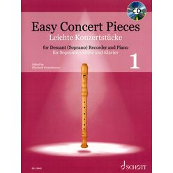 Schott Easy Concert Pieces Recorder 1