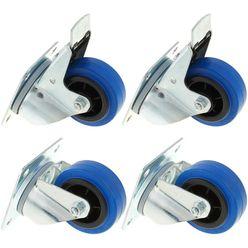 Millenium Blue Wheel Bundle 80 mm