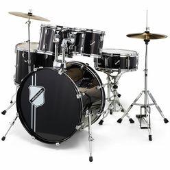 Millenium Focus 22 Drum Set Black